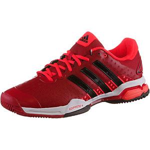adidas Barricade Team 4 Tennisschuhe Herren rot/schwarz