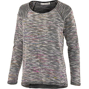 Volcom Mixed Up Strickpullover Damen grau/bunt