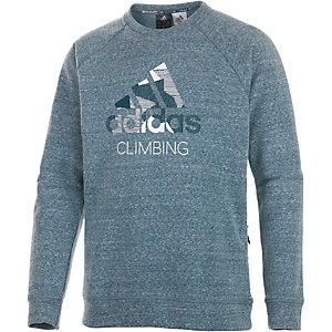 adidas Logo Sweatshirt Herren navy