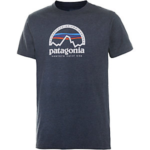Patagonia Arched T-Shirt Herren marine