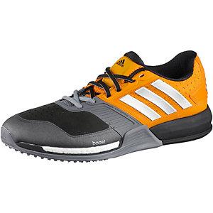 adidas CrazyTrain Boost Fitnessschuhe Herren orange/grau