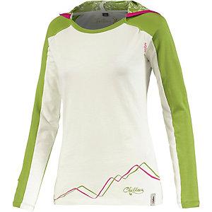 Chillaz Bergamo Funktionsshirt Damen weiß/grün