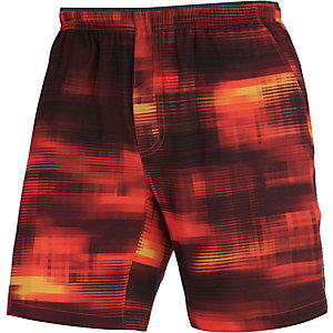 Brooks Laufshorts Herren orange/schwarz