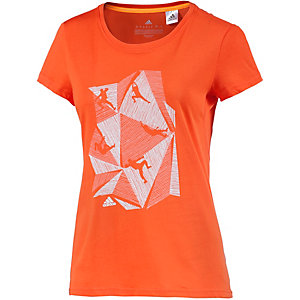 adidas Climb Funktionsshirt Damen orange