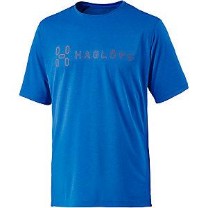 Haglöfs Ridge II Funktionsshirt Herren blau