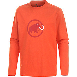 Mammut Logo Funktionsshirt Herren orange