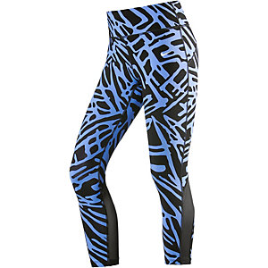 Nike Power Epic Lux Lauftights Damen blau/schwarz