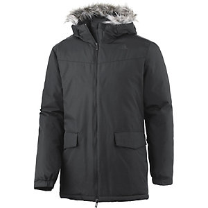 adidas Synthetic Long Winterjacke Herren schwarz