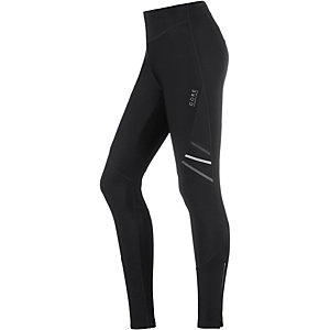 Gore Mythos 2.0 Windstopper Lauftights Damen schwarz