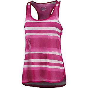 Brooks Tanktop Damen pink/weiß