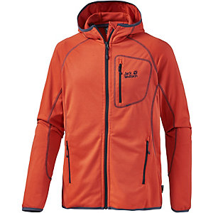 Jack Wolfskin Rock Sill Fleecejacke Herren orange