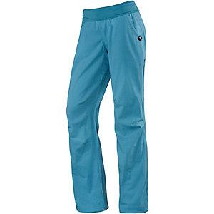 adidas Felsblock Kletterhose Damen blau