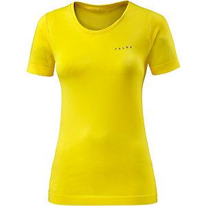 Falke Fitness Running Laufshirt Damen gelb