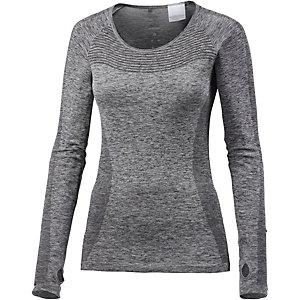 Nike Dri-Fit Knit Laufshirt Damen grau