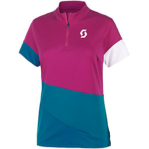 SCOTT Trail Flow Fahrradtrikot Damen festival purple