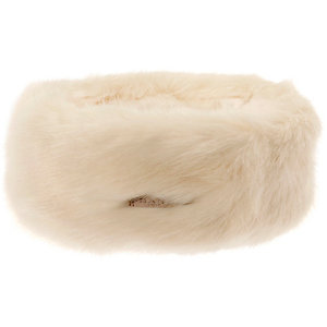Barts Fur Stirnband Damen weiß
