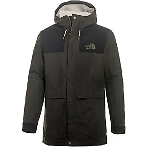 The North Face Sherpa Mountain Parka Herren schwarz/grün