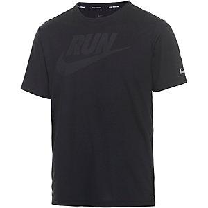 Nike Challenger Laufshirt Herren schwarz