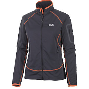 Jack Wolfskin Stormlight Fleecejacke Damen anthrazit