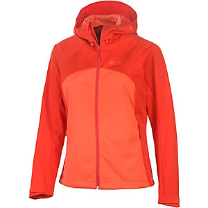 Jack Wolfskin Sonic Dance Softshelljacke Damen orange