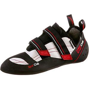 Red Chili Corona Velcro Kletterschuhe weiß/schwarz