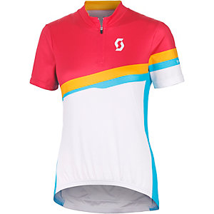 SCOTT Endurance Fahrradtrikot Damen orange weiß