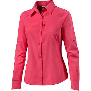 Columbia Silver Ridge Funktionsbluse Damen pink