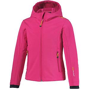 CMP Softshelljacke Mädchen pink/gelb