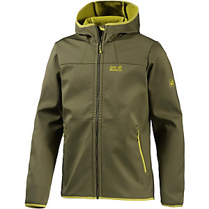 Jack Wolfskin Grand Valley Softshelljacke Herren oliv