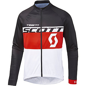 SCOTT RC Team Fahrradtrikot Herren weiß rot