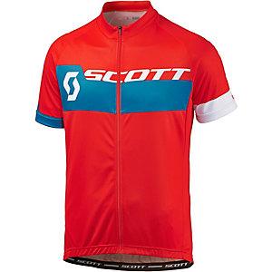 SCOTT Endurance Plus Fahrradtrikot Herren rot blau