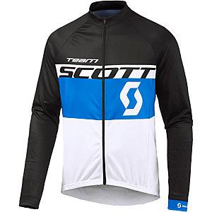 SCOTT RC Team Fahrradtrikot Herren blau weiß