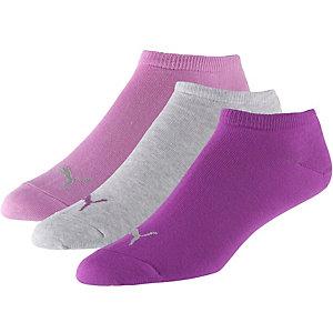 PUMA Socken Pack rosa/grau/himbeer