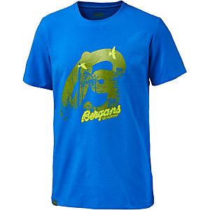 Bergans Forest Printshirt Herren blau
