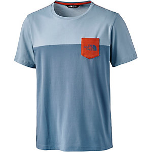 The North Face Radome Pocket T-Shirt Herren blau