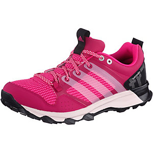 adidas Kanadia 7 Laufschuhe Damen pink/schwarz