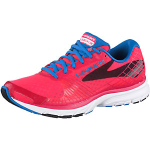 Brooks Launch 3 Laufschuhe Damen pink/blau