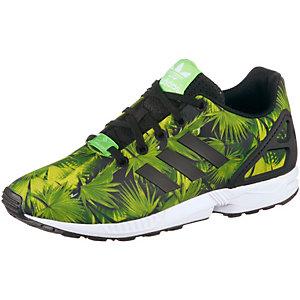 adidas ZX Flux K Sneaker Kinder grün/schwarz