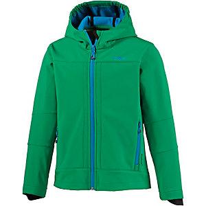 CMP Softshelljacke Jungen grün/blau