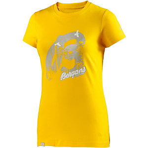 Bergans Forest Funktionsshirt Damen gelb