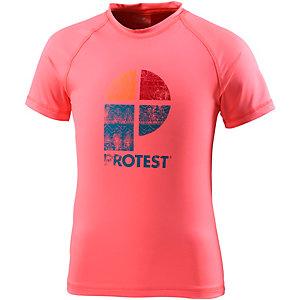 Protest UV-Shirt Mädchen koralle