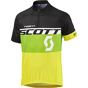 SCOTT RC Team Fahrradtrikot Herren schwarz gelb