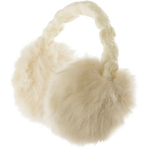 Barts Fur Ohrenwärmer weiß