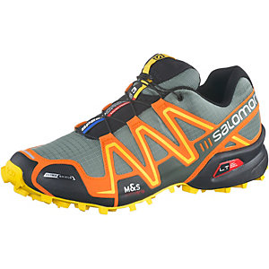 Salomon Speedcross 3 CS Laufschuhe Herren grau/orange