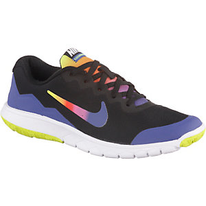 Nike Flex Experience 4 Laufschuhe Mädchen schwarz/bunt