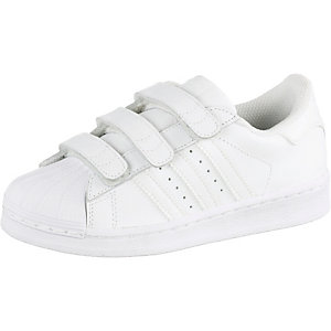 adidas Superstar Foundation Sneaker Kinder weiß
