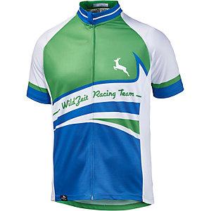 Wildzeit Henry Fahrradtrikot Herren blau/grün