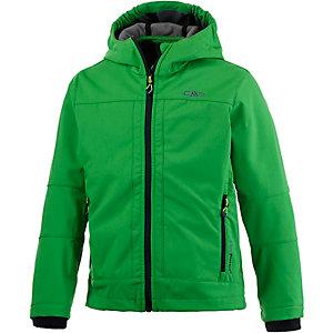 CMP Softshelljacke Jungen grün/schwarz