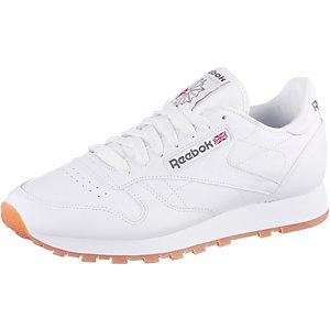 Reebok Classic Leather Gum Sneaker Herren weiß