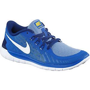 Nike Free 5.0 Laufschuhe Jungen blau